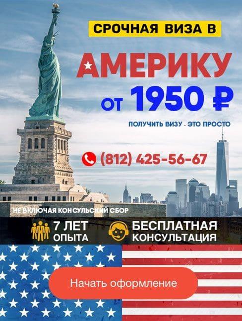Виза в Америку (США)