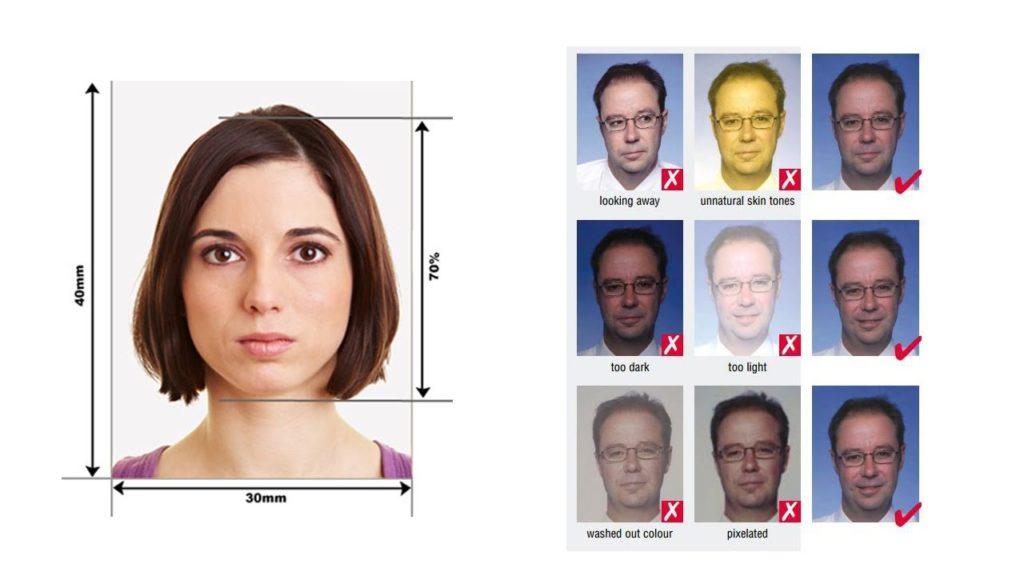 Размер фото на шенгенскую визу в швейцарию